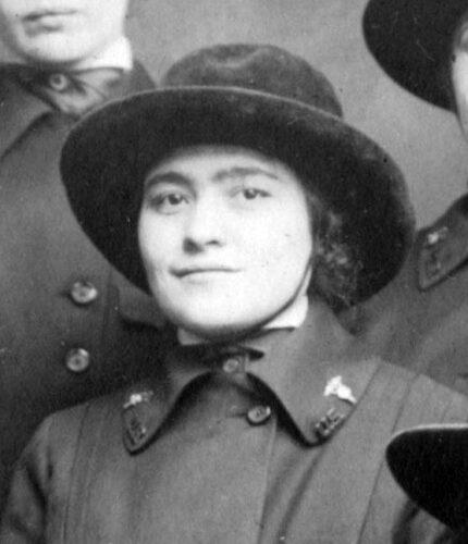 Wilma Wallace in Army Nurse Corps uniform