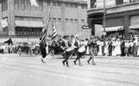 Start of 1917 parade