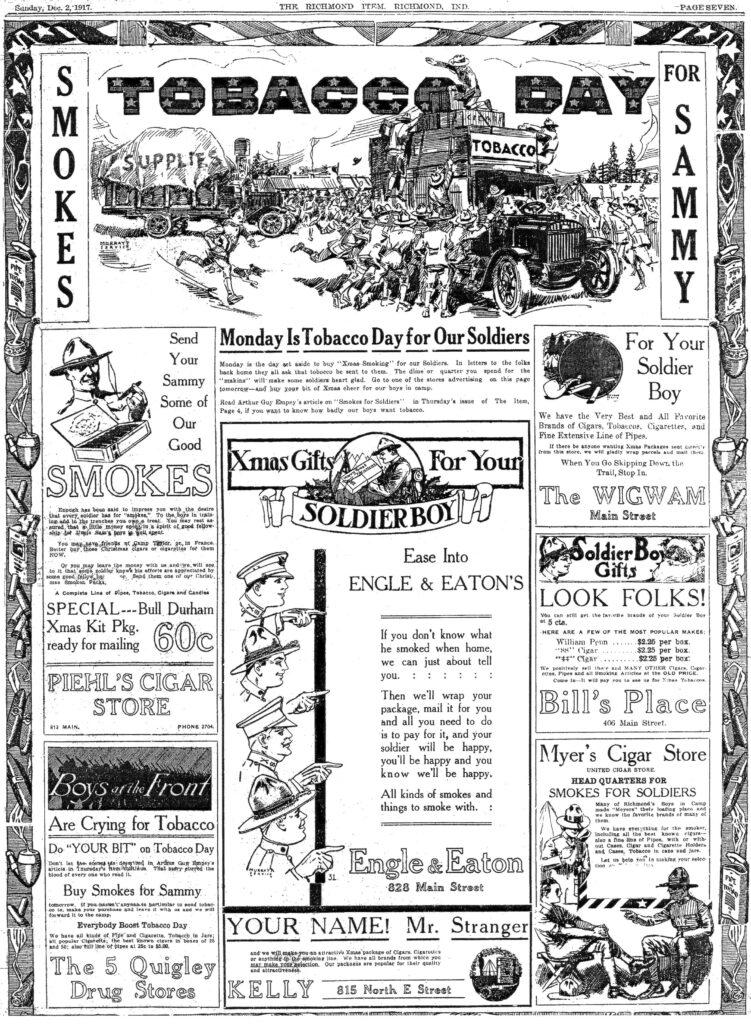 Tobacco Day 1917